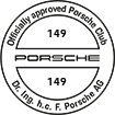 Officially approved Porsche Club 149